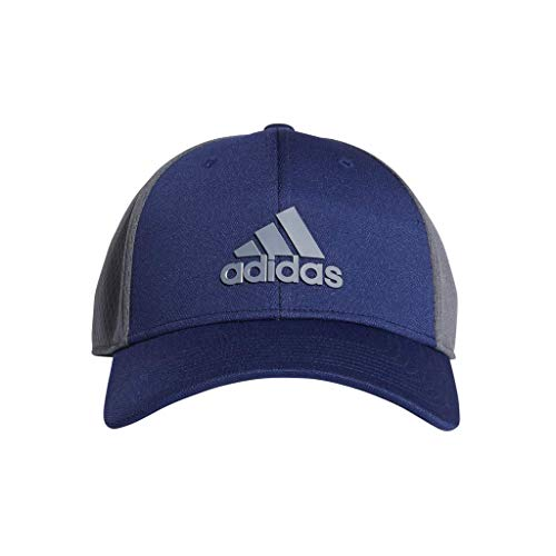 (adidas Men's Franchise Structured Stretch Fit Cap, Night Sky/Onix, Large/X-Large)