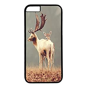 DIY iPhone 6 Plus Case Cover Custom Phone Shell Skin For iPhone 6 Plus With Deer Family