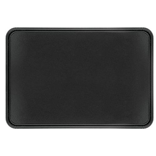 "HUBERT Bakery Tray Meat Tray Market Tray In Black Fiberglass - 25 1/2 L x 17 3/4 W x 1"" H"