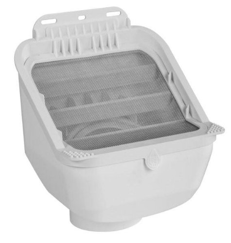 Rain Harvesting Pty Ltd RHAD99 Leaf Eater Advanced Rain Head- 3 in. Round