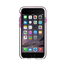 Tech21 Evo Band Case for iPhone 6 - Retail Packaging - Pink/White