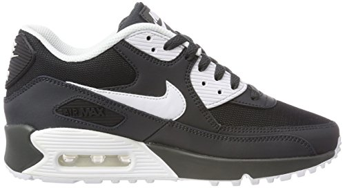 White 089 Noir de running NIKE bla Chaussures homme Max Anthracite Essential 90 Air Xxww78qv