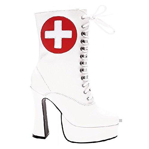 Nurse-557 Costume Shoes Adult Halloween -