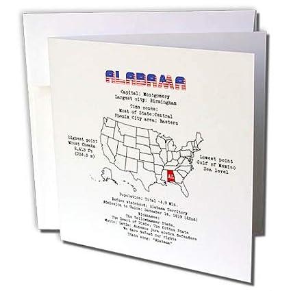 Amazon.com : 3dRose Alexis Design - American States ...