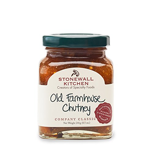 Apple Chutney Pork - Stonewall Kitchen Old Farmhouse Chutney, 8.5 ounces