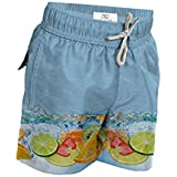 Le Club Original Boy's Swim Trunk Fresh Blue