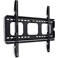 Mount-It! Low-Profile TV Wall Mount 1 Slim Fixed Bracket for 32, 40, 42, 48, 49, 50, 51, 52, 55, 60 inch TVs VESA Compatible up to 600 x 400