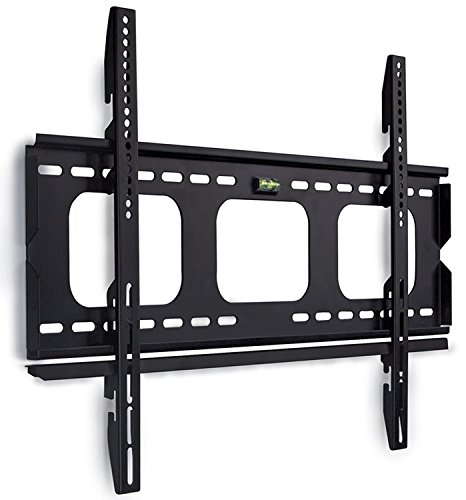 Mount-It! Low-Profile TV Wall Mount 1' Slim Fixed Bracket for 32, 40, 42, 48, 49, 50, 51, 52, 55, 60 inch TVs VESA Compatible up to 600 x 400