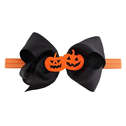 UOKNICE Halloween Headwear Girls Infant Hair Band Cute Headbands Bowknot Accessories