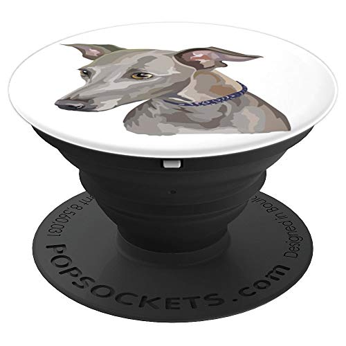 Italian Greyhound Portrait Pop. Dogs Lover Gifts - PopSockets Grip and Stand for Phones and Tablets