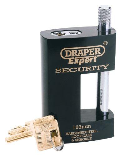 Draper Expert 2 llaves, alta resistencia Candado con horquilla cerrada