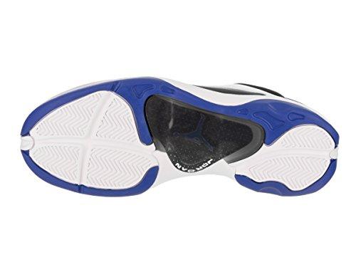 Jordan Nike Uomo Jumpman Pro Veloce Scarpa Da Basket Bianco Nero Varsity Royal