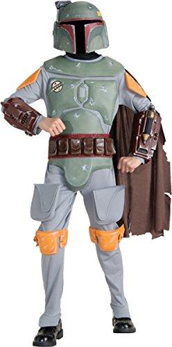 [WMU Costume Boba Fett Child Deluxe Large] (Star Wars Boba Fett Girls Costumes)