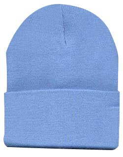 Longニットキャップスキー帽子inライトブルー   B000MNJKFG