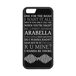 Fashion Arctic Monkeys High Quality Durable Hard Rubber Gel Phone Case Cover for iPhone 6 4.7 inch