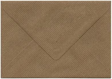 /100/g//m/²/ /pour cartes de v/œux Format A5/ou pli/ée A4 invitations Correspondance marron Enveloppes C5/Kraft Arm/é/
