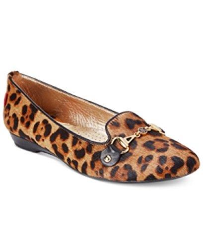 Marc Joseph New York Bryant Park Leopard Lägenheter Kvinnor Skor