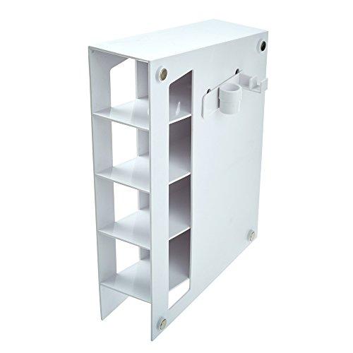 (Celtreat 230295 Magnetized Plastic Pipet Storage Rack, White)