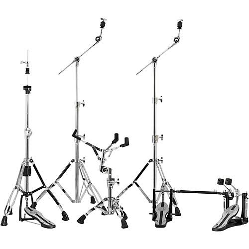 Mars Series HP6005-DP 5-Piece Hardware Pack with Double Bass Drum Pedal