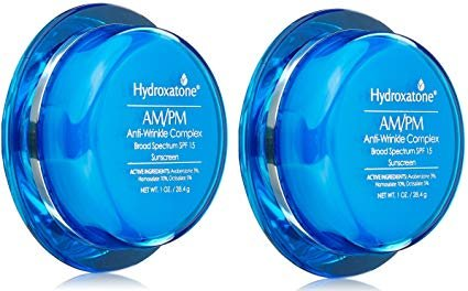 2 Pack, Hydroxatone Complex SPF15 AM/PM 1 oz, Anti-Wrinkle