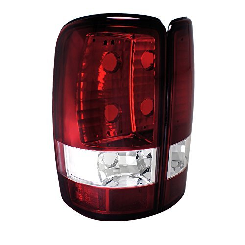 Spec-D Tuning LT-DEN00G2RPW-TM Gmc Yukon Denali/ Chevy Tahoe Red Tail Lights Chevy Yukon Denali