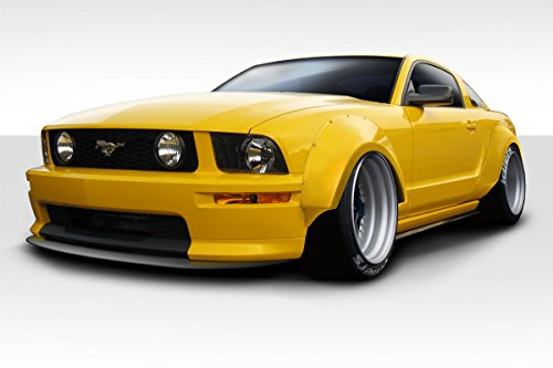 (Duraflex ED-MKG-104 Circuit Wide Body 75MM Fender Flares - 4 Piece Body Kit - Compatible For Ford Mustang 2005-2009)