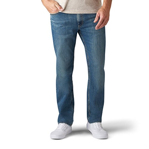 LEE Men's Premium Flex Denim Regular Fit, Flynn, 36W x 32L ()