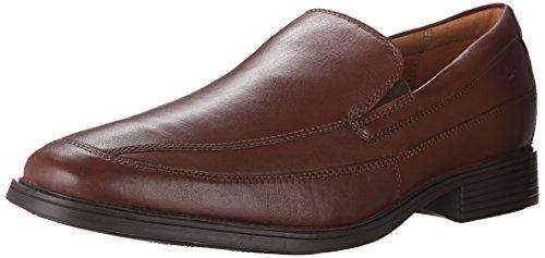 Clarks+Men%27s+Tilden+Free+Slip-On+Loafer%2C+Brown+Leather%2C+9.5+M+US