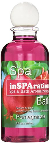 Universal Jetted Shower - inSPAration Spa and Bath Aromatherapy 374X Spa Liquid, 9-Ounce, Pomegranate