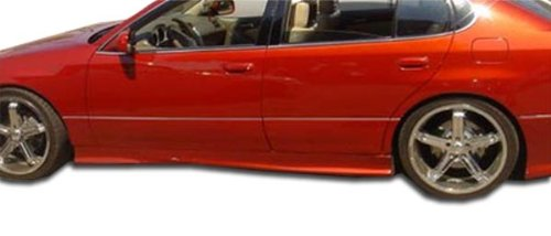 Duraflex Replacement for 1998-2005 Lexus GS Series GS300 GS400 GS430 VIP Side Skirts Rocker Panels - 2 Piece