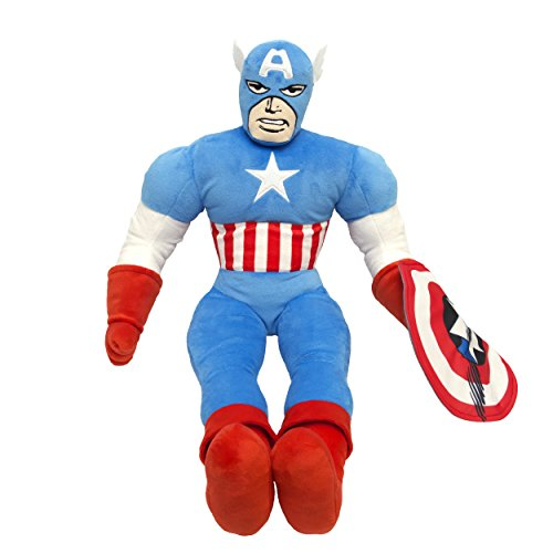Marvel Comics Captain America Plush Pillow Buddy (Marvel Comic Pillows compare prices)