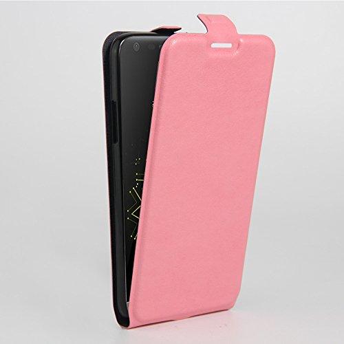 Funda LG G5,Manyip Caja del teléfono del cuero,Protector de Pantalla de Slim Case Estilo Billetera con Ranuras para Tarjetas, Soporte Plegable, Cierre Magnético E