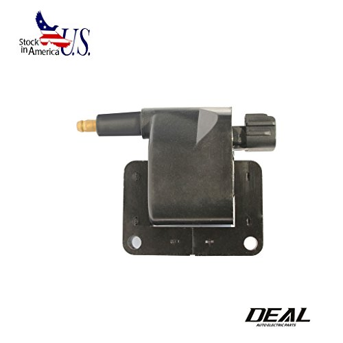 Deal 1pc New Ignition Coil For Dodge Jeep Pickup Truck SUV Van UF198 L4 L6 V6 V8 B1500 B2500 B3500 Dakota Durango Ram 1500 2500 3500 Grand Cherokee TJ Wrangler