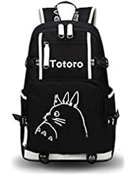 YOYOSHome Luminous Anime My Neighbor Totoro Cosplay Bookbag Laptop Bag Backpack School Bag