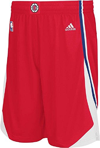Swingman Los Clippers Shorts By Adidas Ricamato Rosso Angeles c3FJl1TK