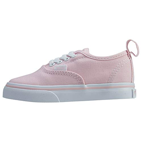 Vans Authentic Elastic Lace Sneaker Chalk Pink/True White 9 ()
