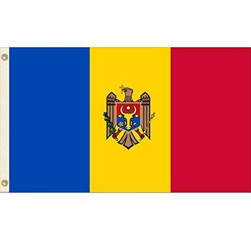 Moldova 3x5 Polyester Flag by Vista Flags