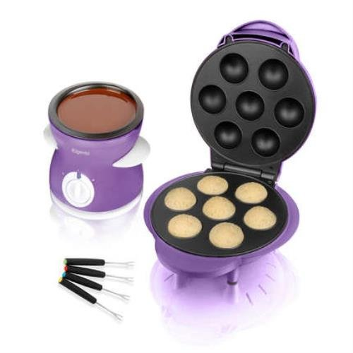 Elgento E19007 Popcake Chocolate Fondue Dual Pack - Purple