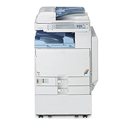 Ricoh Aficio MP C4500 Tabloid-Size Color MFP Laser Multifunction Copier - A3, 45ppm, Copy, Print, Scan, Duplex, 2 Trays, Stand