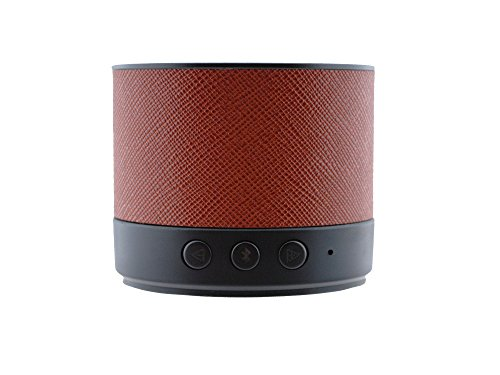 Écoutecc Lente Ultra-portable Light Weight Bluetooth 4.0 Speaker with High Definition Sound for iPhonec iPadc Samsungc Nexusc HTCc Nokiac LG and More - Chocolate