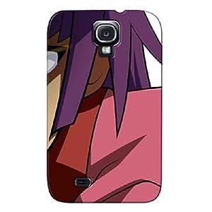 Durable Red Protective Hard Case For Sumsang Galaxy S4 Bakemonogatari Senjougahara
