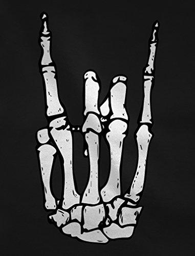 12 rock'n'roll Ragazzi Scheletro Bianco 11 152cm Shirtgeil Per Anni Mano Maglietta E Bambini Di TqaCgnwvt
