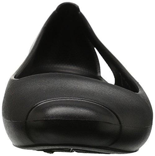 Noir Flat Femme Crocs black Sienna Ballerines wHpPInqgBx