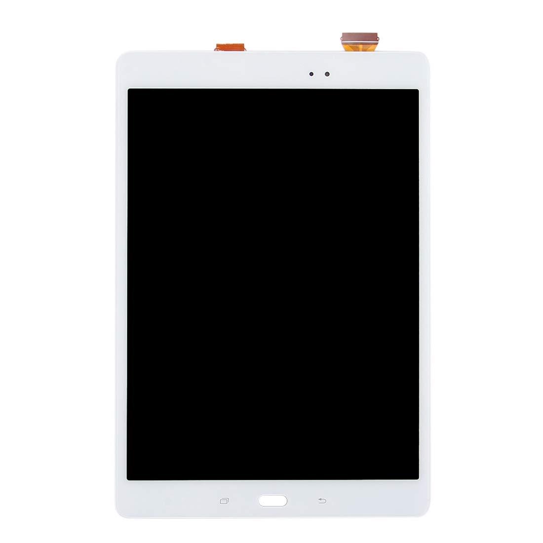 【保障できる】 修理用フロントパネル(フロントガラスデジタイザ)タッチパネル Lcd液晶パネルセット 白 Galaxy Tab (色 A 9.7/ 9.7 P550 LCDスクリーンとデジタイザーフルアセンブリ(ブラック)用 (色 : 白) 白 B07N6SFBVW, 印章製造直販本舗 こだわり屋:3ec37267 --- senas.4x4.lt