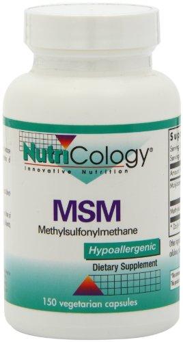Nutricology МСМ, Vegicaps, 150-Граф