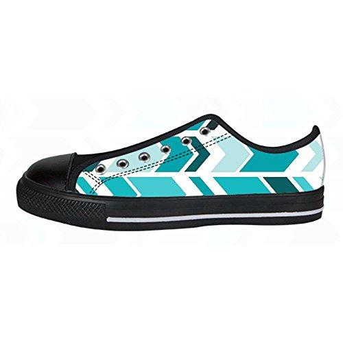 Custom freccia schema Womens Canvas shoes I lacci delle scarpe scarpe scarpe da ginnastica Alto tetto Venta Barata Mejor Lugar Ubicaciones De Los Centros Para La Venta Comprar Barato Libre e5VlLWm8f