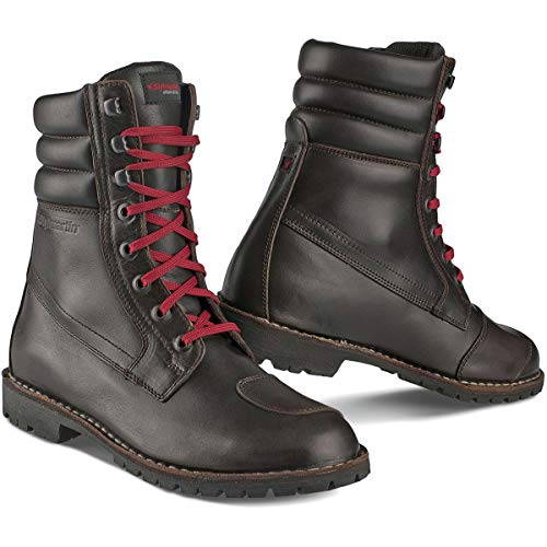 Stylmartin Adult Indian Urban Line Rider Boots Brown Size  US-13 d22c2149a1e
