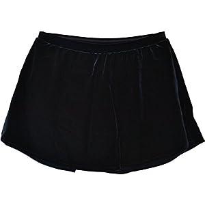 ChloeNoel Figure Skating Velvet A Line Skirt ?K03