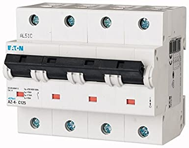 EATON AZ-4-C20 Interruptor Magnetotérmico AZ, 20A, 4P, Curva C, Caja de 3: Amazon.es: Industria, empresas y ciencia