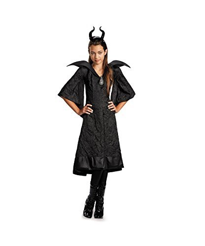 Black Gown Costume (Maleficent Christening Black Gown Classic Child Costume - Large)